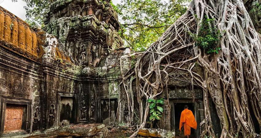 4D3N-Overland to Cambodia, Angkor Wat Group Tour from Bangkok, Thailand