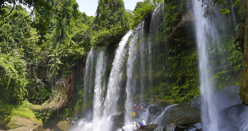 Full-Day Beng Mealea Remote temple, Phnom Kulen and 1000 Linga River Tour