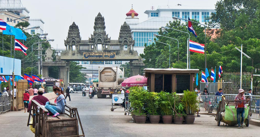Private car transfer from (Aranyaprathet) - Poipet Border - Siem Reap
