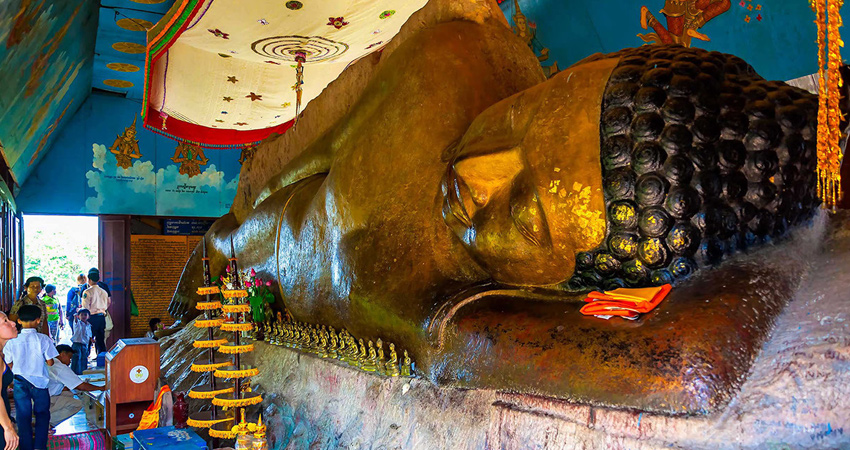Phnom Kulen Group Excursions, 1000 Linga River and Reclining Buddha