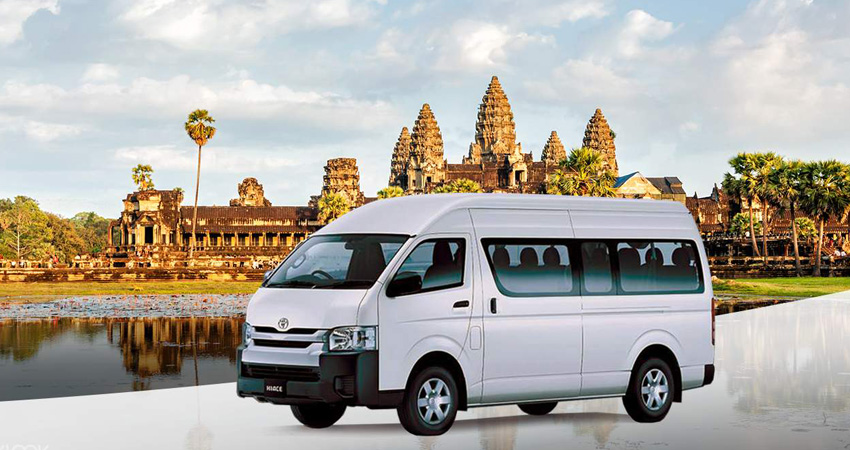 Car Transfer from Siem Reap to Sihanouk Ville or Sihanouk Ville to Siem Reap