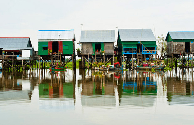 Tonle Sap Lake - Kampong Khleang Private Day Tour with lunch from Siem Reap